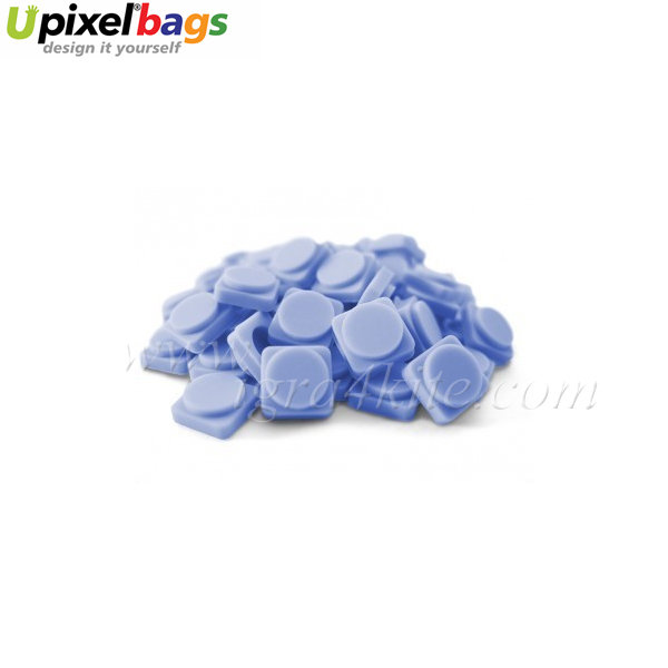 Upixel - Големи пиксел чипове - облачно синьо