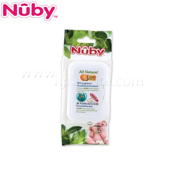 Nuby - Бебешки мокри кърпички - 80 броя