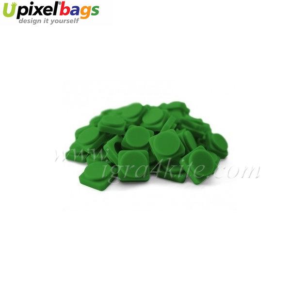 Upixel - Малки пиксел чипове - тъмно зелено
