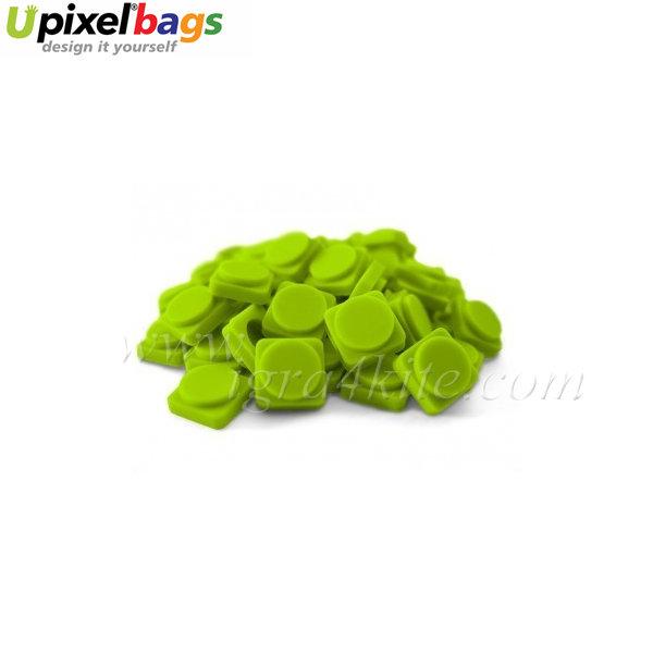 Upixel - Малки пиксел чипове - тревисто зелено