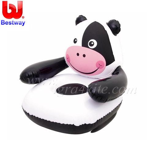Bestway - Надуваемо детско кресло Крава 75025
