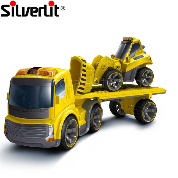 Silverlit - Автовоз с булдозер с радио управление RC