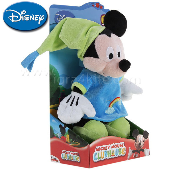 Disney - Мики Маус с пижама плюшена играчка 25 см. 054099