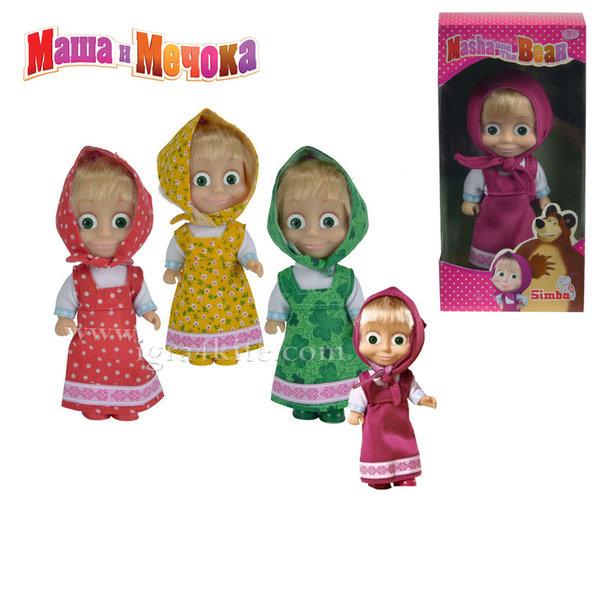 Simba Маша и Мечока - Кукла Маша 12см 1678