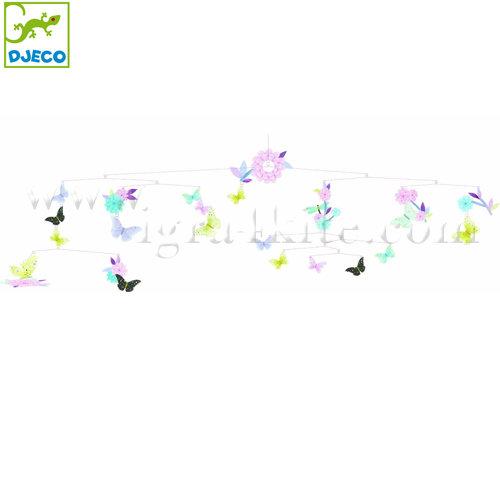 """Djeco - Висяща декорация за детска стая """"Въртящи се Пеперуди"""" DD04320"""