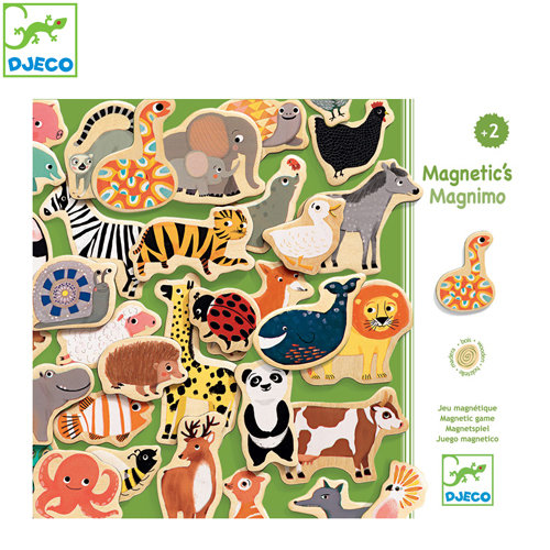 Djeco - Дървени магнити Magnimo 03124