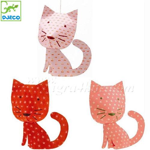Djeco - Декорация Perched cats 04955