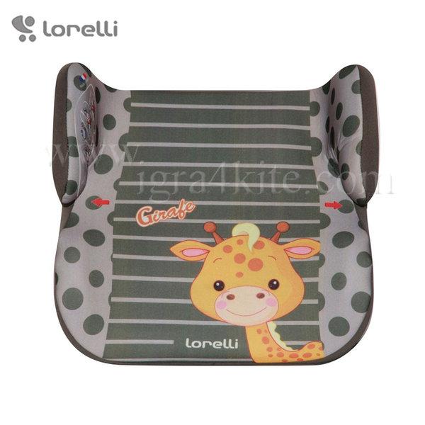 Lorelli - Стол за кола TOPO COMFORT GREEN GIRAFE 15-36кг. 1007099