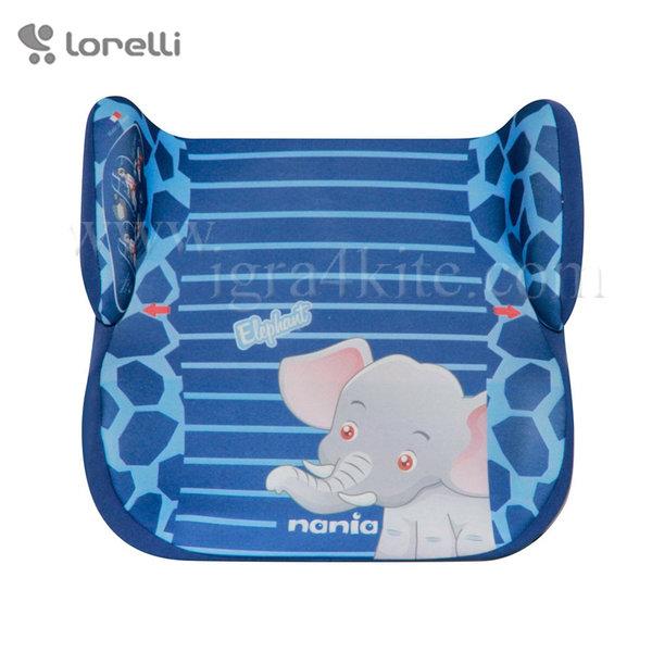 Lorelli - Стол за кола TOPO COMFORT BLUE ELEPHANT 15-36кг. 1007099