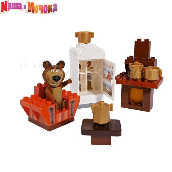 BIG Маша и Мечока - Конструктор Стаята на Маша, 35 части 57093