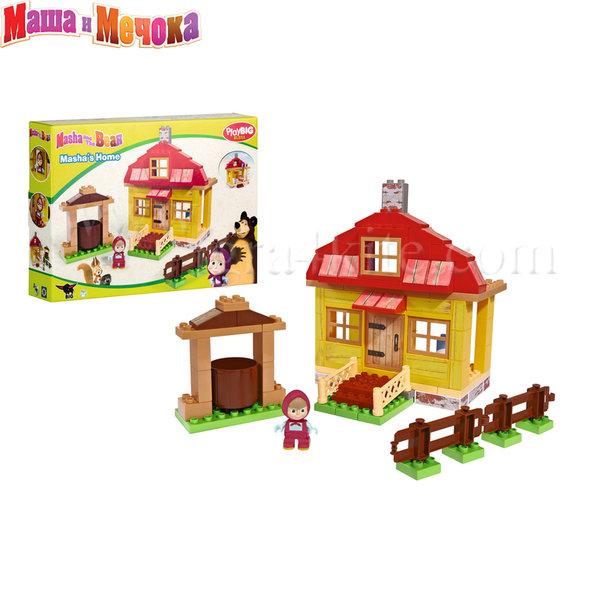 BIG Маша и Мечока - Конструктор Къщата на Маша, 95 части 57096
