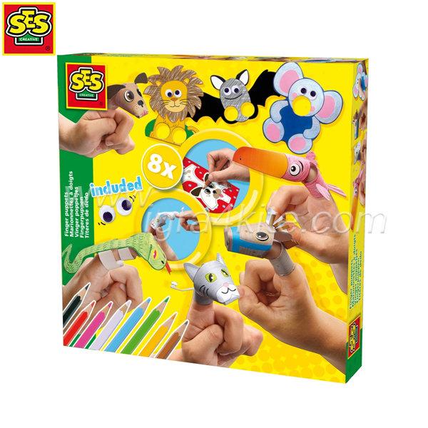 SES Creative - Направи сам Кукли за пръсти 14900