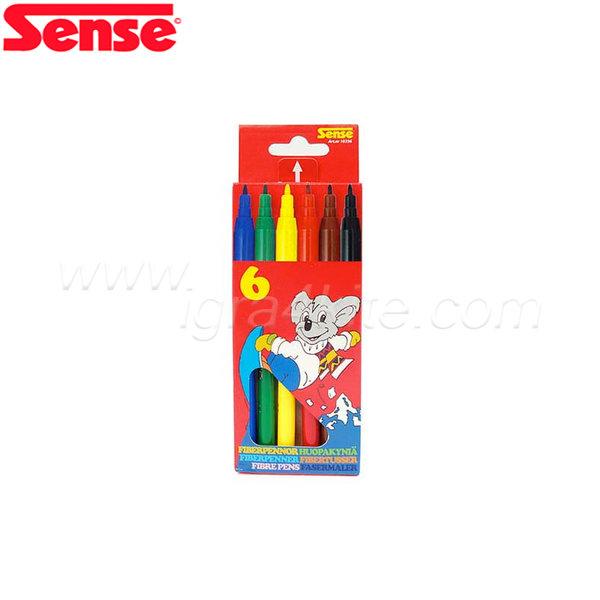 Sense - Флумастери - 6 броя 10356