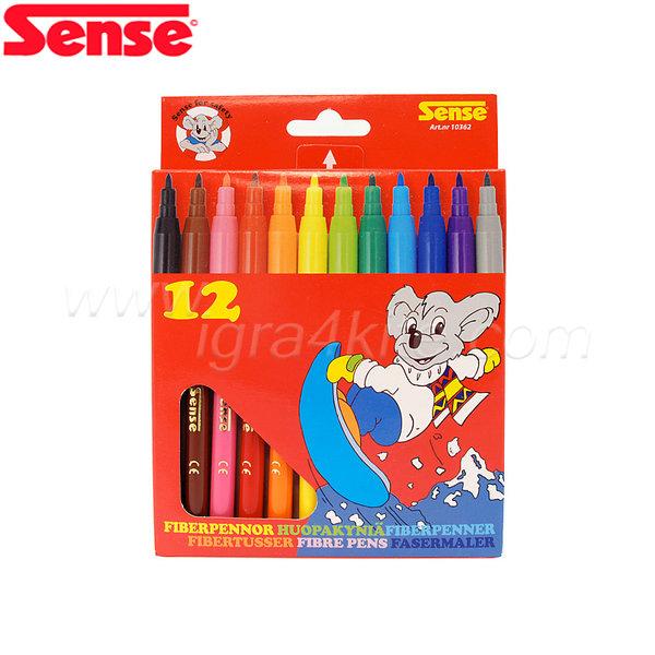 Sense - Флумастери - 12 броя 10362