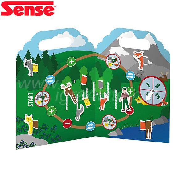 """Sense - Игра със силиконови стикери """"Диви животни"""" 54072"""