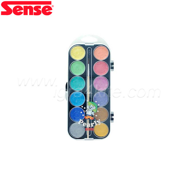 Sense - Водни боички с перлени цветове - 12 цвята 10924