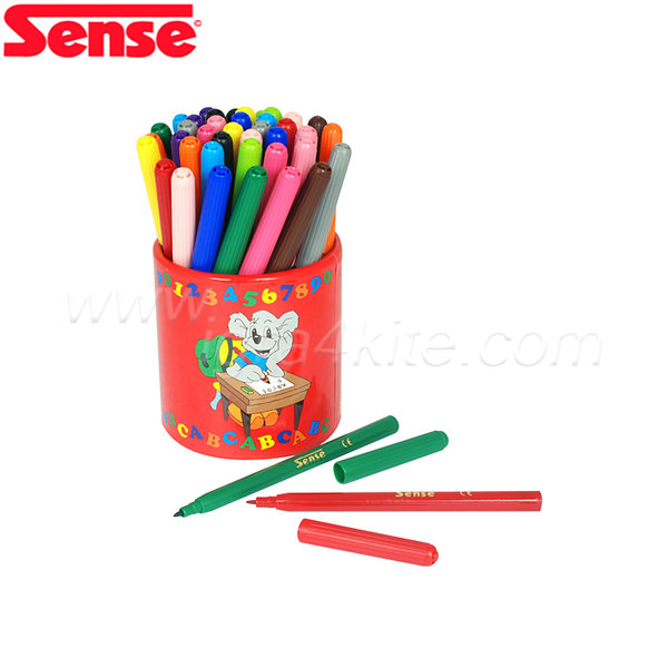 Sense - Флумастери с моливник - 42 броя 10510