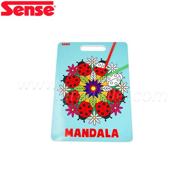 "Sense - Книжка за оцветяване ""Мандала"" 12183"