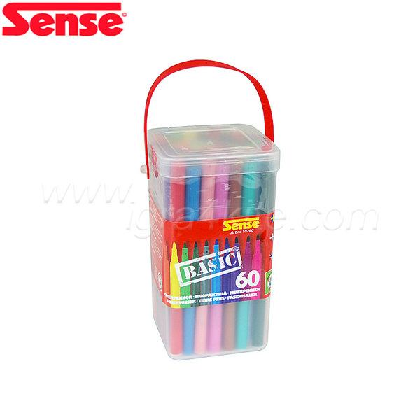Sense - Флумастери BASIC - 60 броя 10260