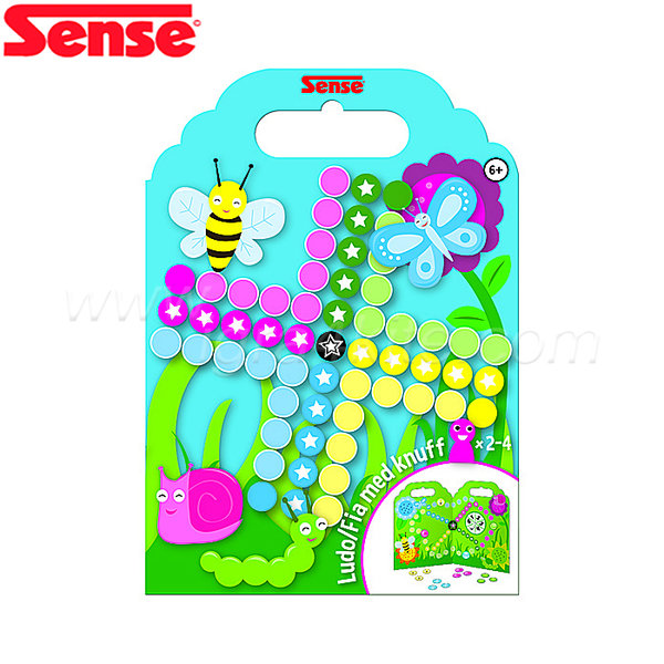 """Sense - Игра със силиконови стикери """"Не се сърди човече"""" 54068"""