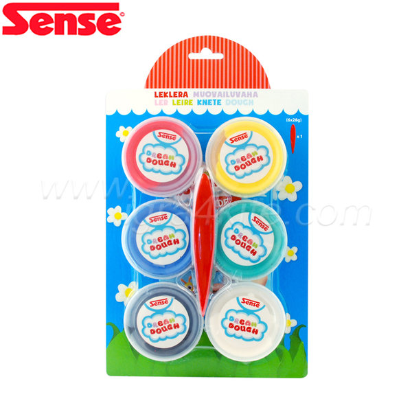 Sense -  Моделин Dream Dough - 6 бр. голям 13060