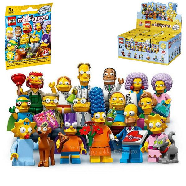 Lego 71009 The Simpsons - Колекционерски мини фигурки Семейство Симпсън