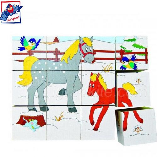 Woody - Кубчета с картинки - Веселото Влакче 90248