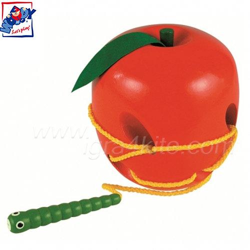 Woody - Ябълка и червейче за шиене 90471