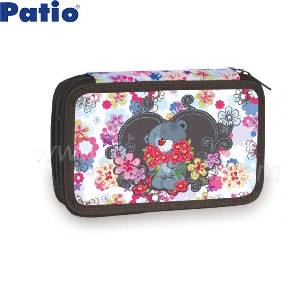 Patio - Несесер с два ципа празен Teo Bear