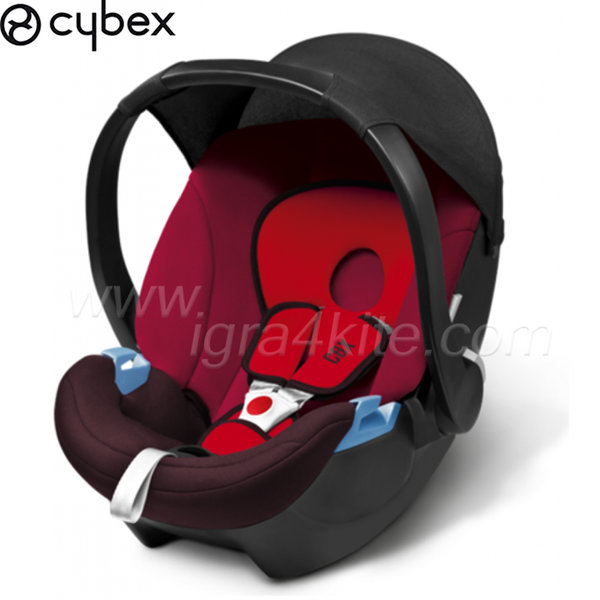 Cybex - Стол за кола Aton Basic Rumba Red-dark red 2014 0-13кг