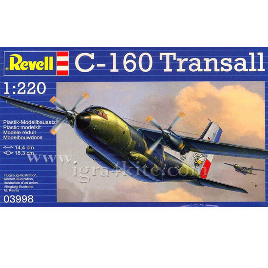Revell - Военен самолет С-16 Трансал