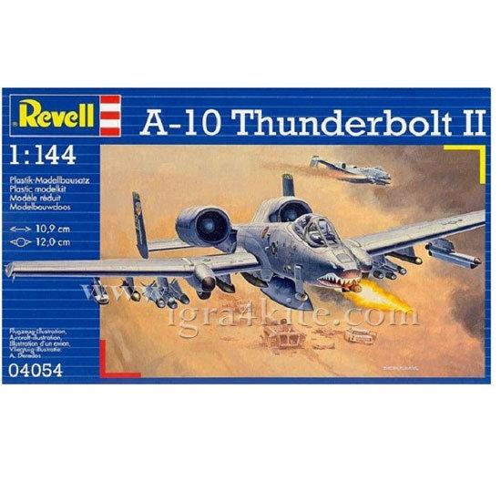 Revell - Военен самолет A-10 Тъндърболд II