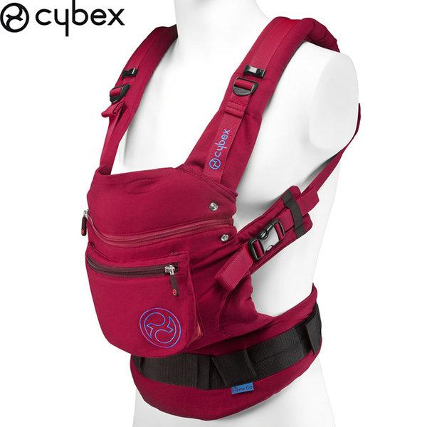 Cybex - Кенгуру за бебе Cybex My Go poppy red