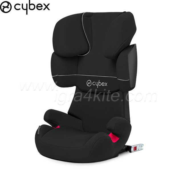 Cybex - Стол за кола Solution X Pure Black 2012/14 15-36кг