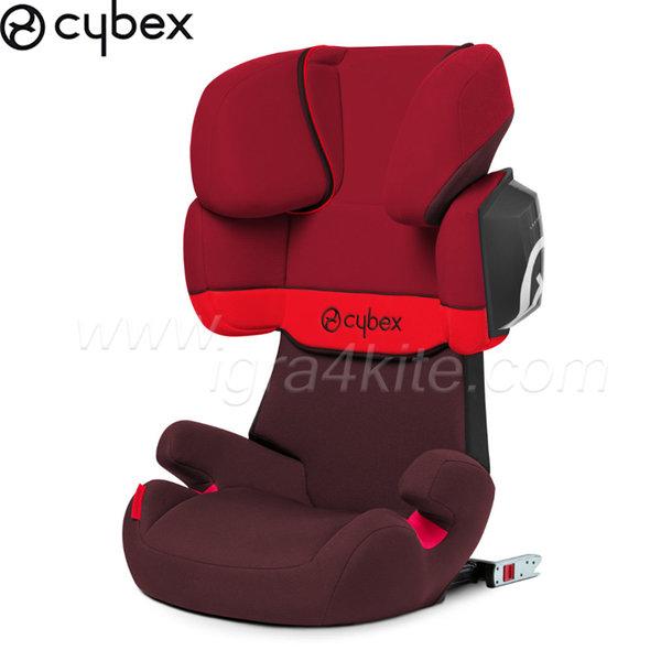 Cybex - Стол за кола Solution X Rumba Red 2014 15-36кг