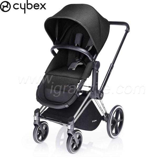 Cybex - Бебешка количка Cybex PRIAM 2 в 1 Black Beauty