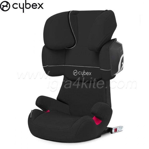 Cybex - Стол за кола Solution X2 Fix Pure Black 2015 15-36кг