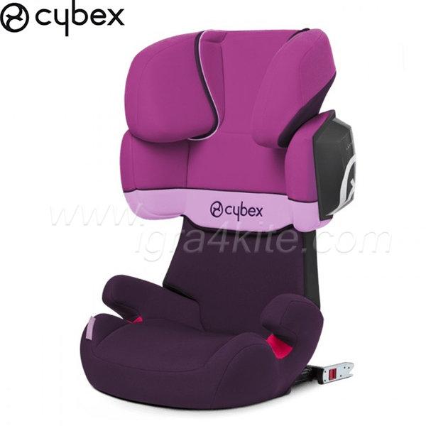 Cybex - Стол за кола Solution X2 Fix Purple Rain 2015 15-36кг