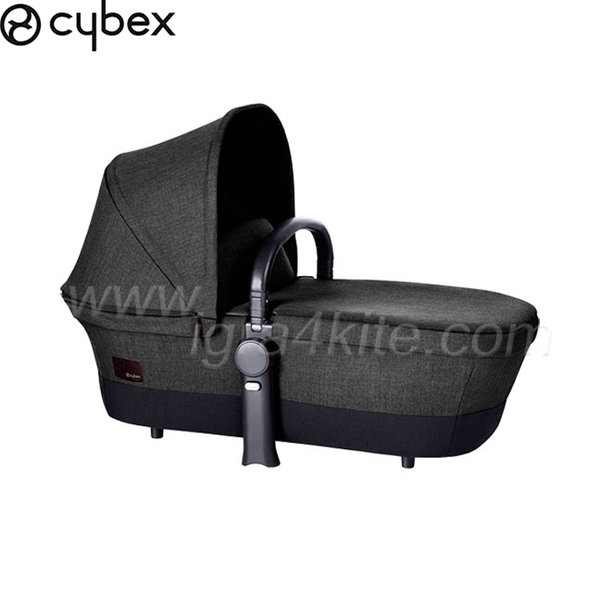 Cybex - Кош за новородено Priam Black Beauty