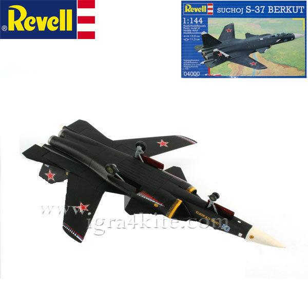 Revell - Военен самолет Сукхой S-37 Беркут