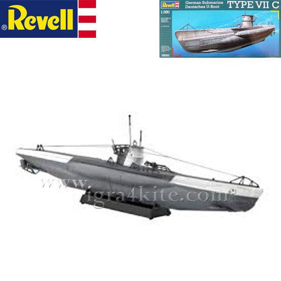 Revell - Подводница Немска подводница VII C