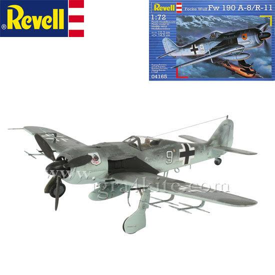 Revell - Военен самолет Фоки Улф Fw 190 А-8/R-11