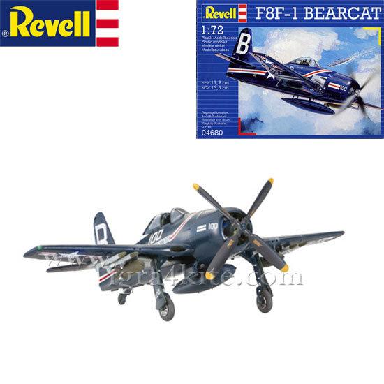 Revell - Военен самолет F8F-1 Беркут