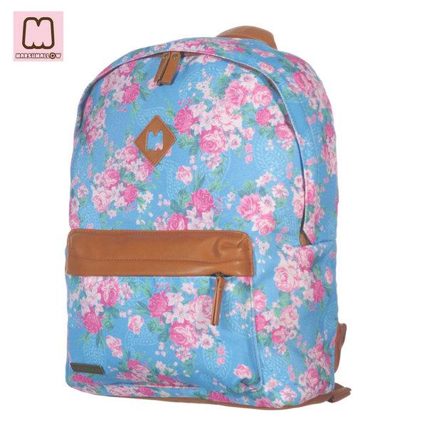 Marshmallow - Ученическа раница Flower 92269