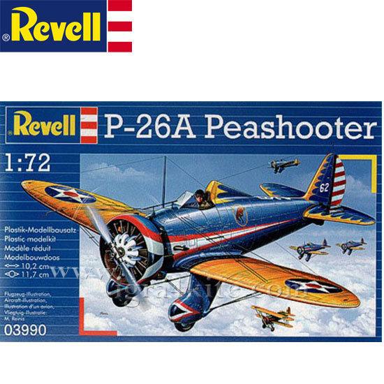 Revell - Военен самолет P-26 A Пиишутър