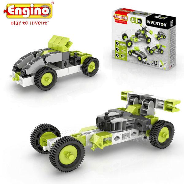 Engino - Конструктор 4 модела коли 0431