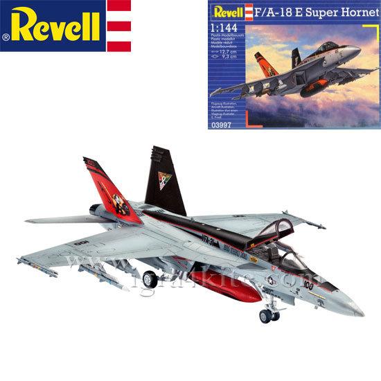 Revell - Военен самолет F/A-18E Супер Хорнет