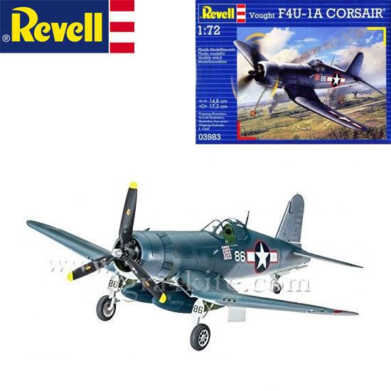 Revell - Военен самолет Самолет F4U - 1D Корсар