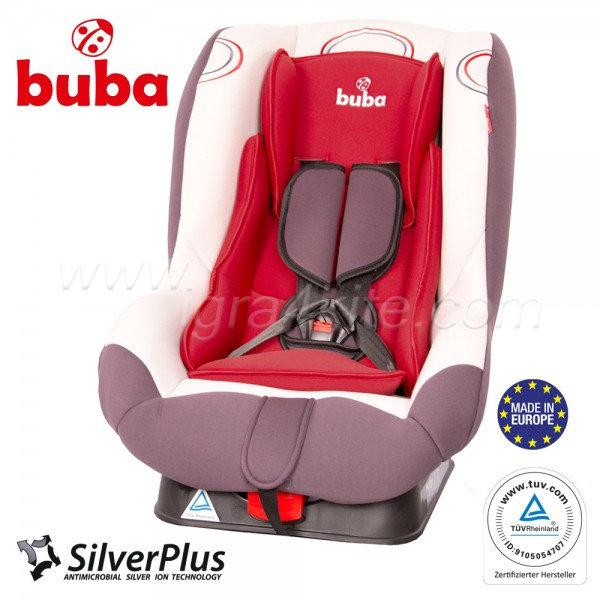 Buba - Bambino столче за кола 9-18 кг. червено