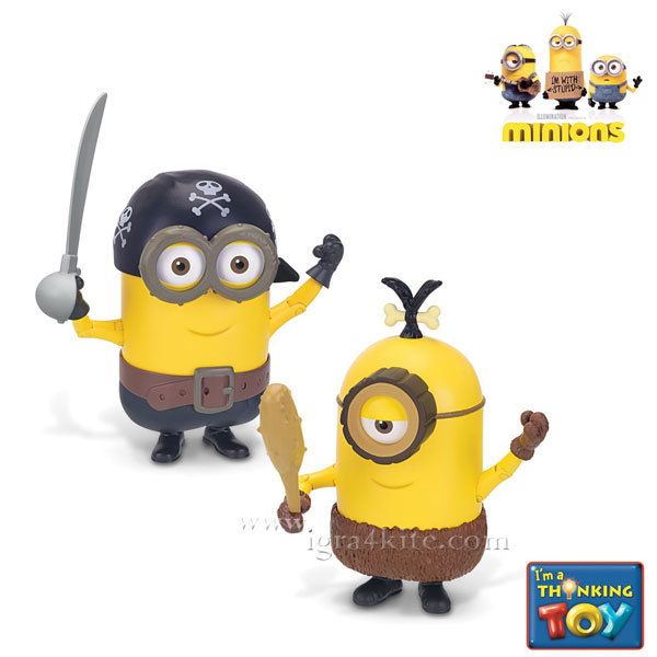 Minions - Фигура Делукс Миньоните Cro-Minion Pirate
